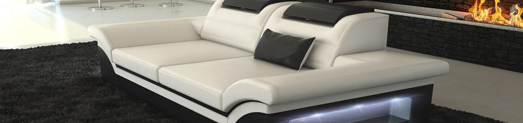 Sofa sæt i læder