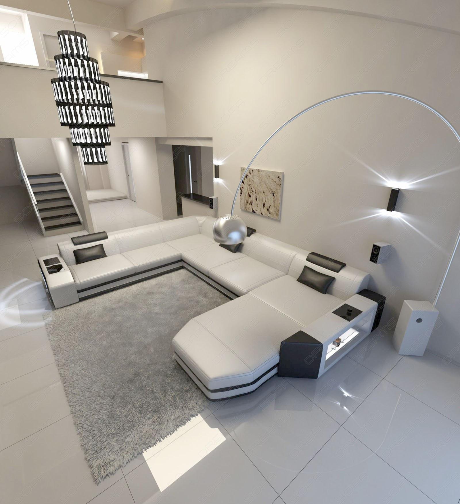 xl leather sofa modern design