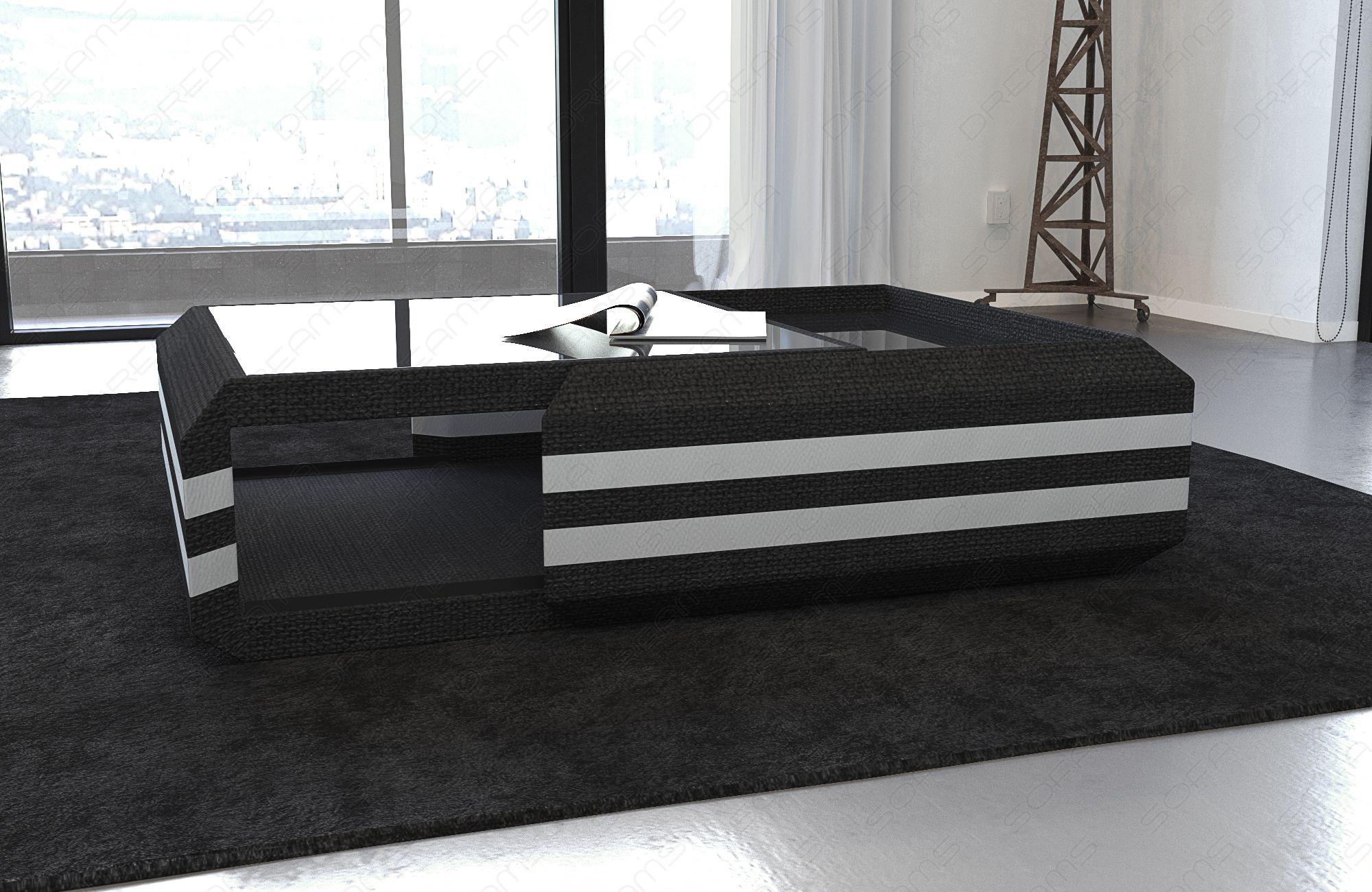Fabric Coffee Table Hollywood extendable (Hugo 14)