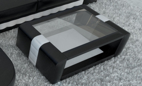 Design Coffee Table Boston black-white