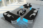 Design Sofa Set Boston 3-2-1 black- Hugo 14