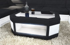Fabric Mix Coffee Table Dallas with LED- black- Mineva 14