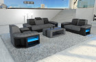 Design Sofa Set Boston 3-2-1 grey - Mineva 12