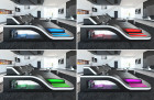 LED lighting with Touch Wheel remote control (RGB color swap)