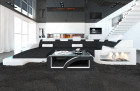 Design Fabric Sofa Detroit U Shaped brown - Mineva 8