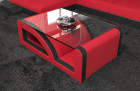 Fabric Coffee Table Detroit red - Mineva 20