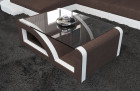 Fabric Coffee Table Detroit brown - Hugo 8