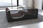 Modern Fabric Coffee Table Jacksonville brown- Hugo 10