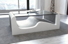 Design Living Room Table Jacksonville grey-white