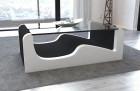 Modern Fabric Coffee Table Jacksonville black - Hugo 14