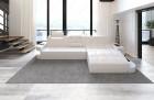 Modern Leather Sofa Jacksonville mit LED Lights white