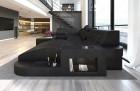 Design Sectional Sofa Jacksonville U Shape LED black