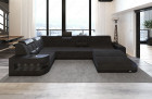 Luxury Fabric Sofa Jacksonville U Shape darkgrey - Hugo 12