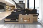 Modern Design Sofa Jacksonville XL with LED - black - Hugo 14