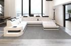 Modern Sectional Sofa Jacksonville U Shaped white-black