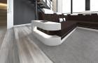 Fabric Sofa Jacksonville XL Shape LED - brown - Hugo 11