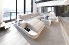 Fabric Sofa Jacksonville XL Shape LED - lightgrey - Hugo 2