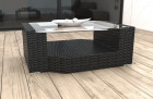 Wicker Lounge Coffee Table Los Angeles