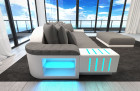 modern Fabric Sofa Austin with LED - grey - Mineva 12