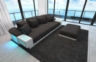 Design Fabric Sofa Austin black - Mineva 14