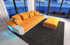 Design Fabric Sofa Austin- orange - Mineva 16