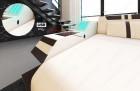 Luksus sofa Hollxwood med LED lys og USB grå - Hugo 12