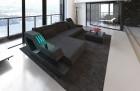 Design stof sofa Hollywood L-formet elfenben - Hugo 1
