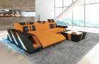 Fabric Sectional Sofa New Jersey L Shape - orange - Mineva 16