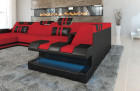 Luxury Fabric Sofa New Jersey U Shaped red - Mineva 10