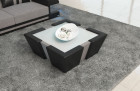 Fabric Coffee Table New Jersey lightgrey (Hugo 3)