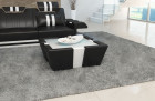 Leather Coffee Table New Jersey - black-white