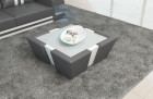 Leather Coffee Table New Jersey - grey-white