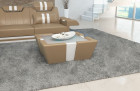 Design coffeetable New Jersey with LED- sandbeige-white