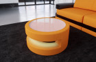 fabric leather mix table - Mineva 16