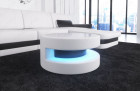 Design coffeetable Brooklyn with LED white