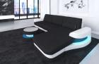 Fabric sectional Sofa Tampa with LED Lights - Mineva 14