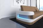 Fabric sectional Sofa Tampa with LED Lights - Mineva 9