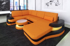 Fabric sectional Sofa Tampa with LED Lights Mineva 16