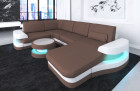 Fabric sectional Sofa Tampa with LED Lights Mineva 5
