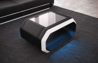 design coffeetable Brooklyn LED - black-white