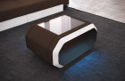 fabric leather mix table - Mineva 7