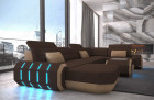 Fabric sectional Sofa Brooklyn with LED Lights - Mineva 7