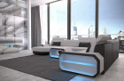 Fabric sectional Sofa Brooklyn with LED Lights - Mineva 2