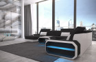 Fabric sectional Sofa Brooklyn with LED Lights - Hugo 14