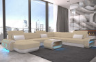 fabric leather mix sofa Brooklyn XL Shape - Mineva 4