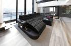 Design Stof Sofa Jacksonville U Form med LED
