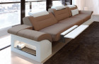 3 seater Couch Sofa Chicago with electrical relax function - cappuccino Mineva 21