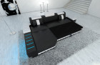 Design Sofa Boston LED L Shaped with sofa bed