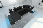 Design Sofa Boston U Shaped with optional sofa bed