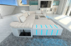 Design Sofa Boston U Shaped ivory- Mineva 1